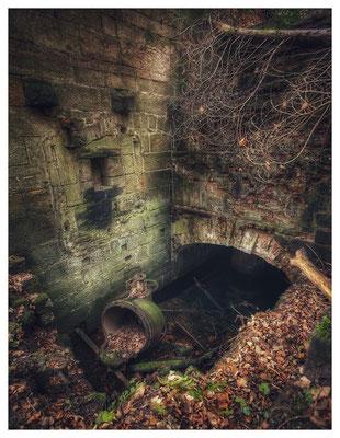 Ruine der Maimühle Hohnstein im Polenztal (17mm, f/2,8)