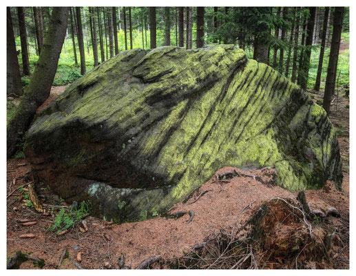 Schichtenfolgen im Sandstein
