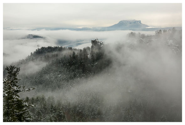 Winternebel am Mönch