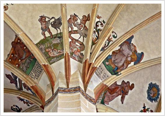 Deckenmalerei in der Marienkirche