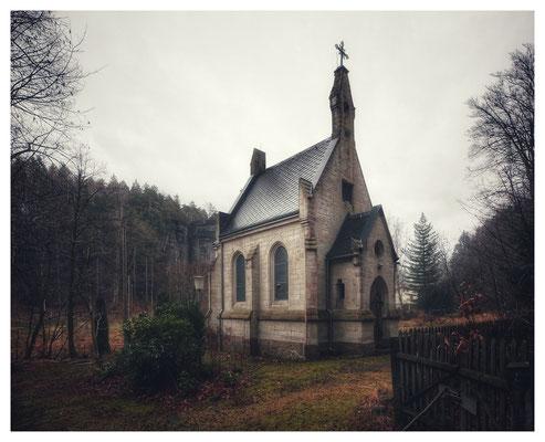 die Waldkapelle im Bielatal