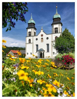 Die Wallfahrtskirche in Bildstein...