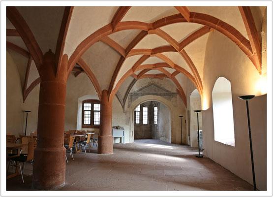 Blick in die alte Hofstube...