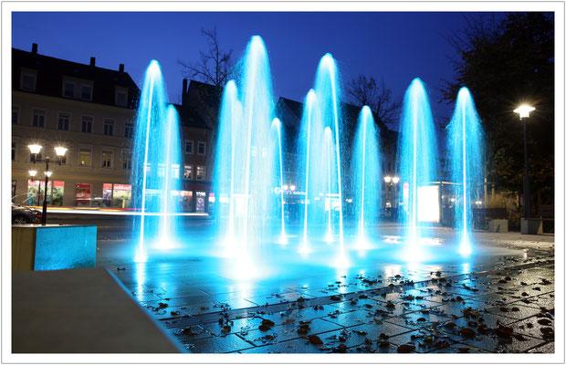 Fontänenfeld am Friedenspark