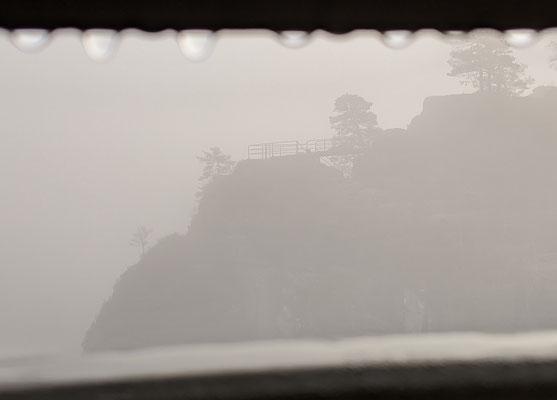 Nebel-Regenstimmung (Bastei)