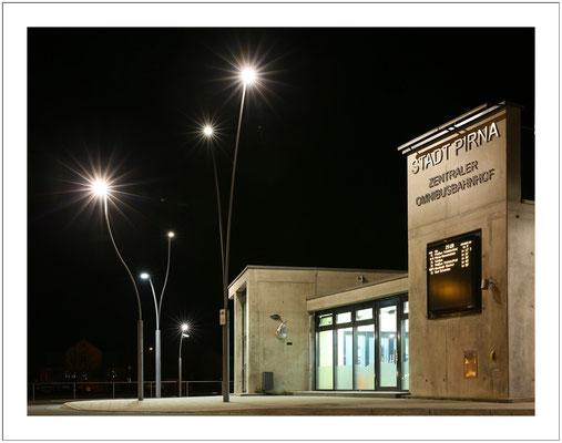 moderne Architektur am Busbahnhof