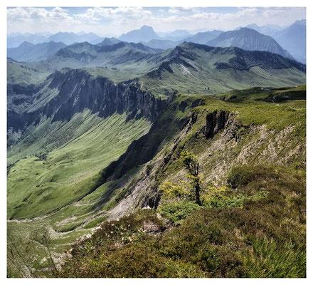 Bergwelten: Aussicht vom Diedamskopf