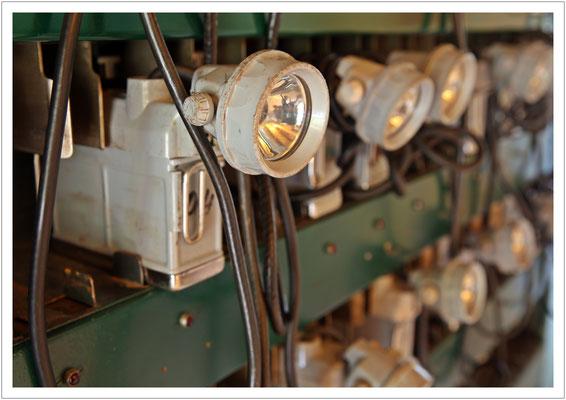 ausgedient - die alte Lampenladestation aus WISMUT-Zeiten