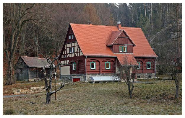 """Die Fernsehheimat des """"Rangers"""" - das alte königliche Jagdhaus am Zeughaus"""