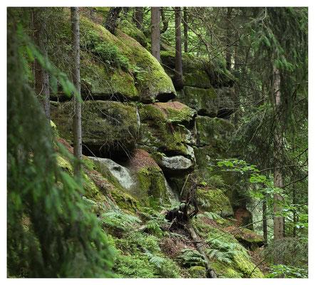 Felsformationen am Stimmersdorfer Weg