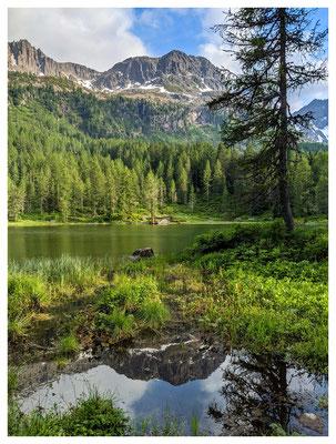 am Lago di San Pellegrino