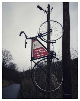 kein Urlaub ohne Fahrrad - auch an der Ottomühle