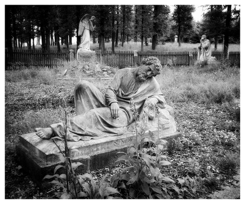 ...und einige Statuen gab es auch
