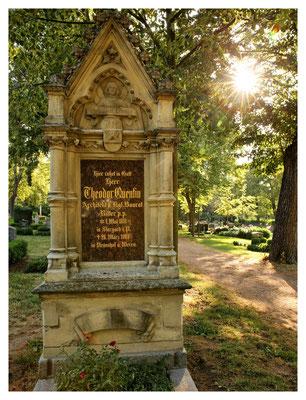 Grab des Architekten und Kirchenbaumeisters Theodor Quentin (Pirna)