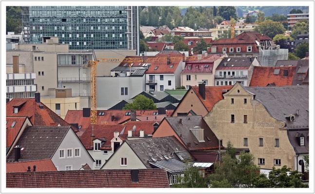 Über den Dächern von Kempten