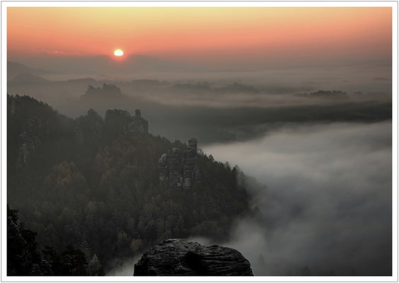 Sonnenaufgang über dem Gamrig
