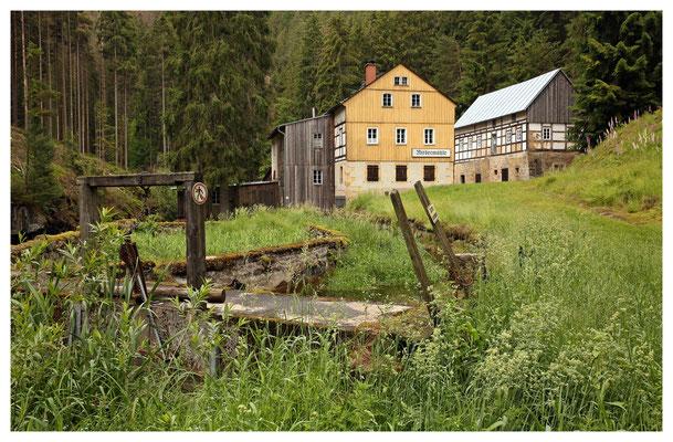 """""""brethmullen undern muhlhübel"""" - die Niedermühle ist fast 500 Jahre alt..."""