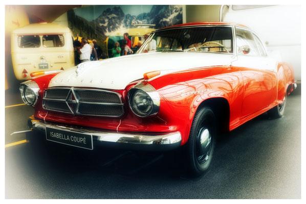 einfach formvollendet: Borgward Isabella Cabrio aus den 1950er Jahren