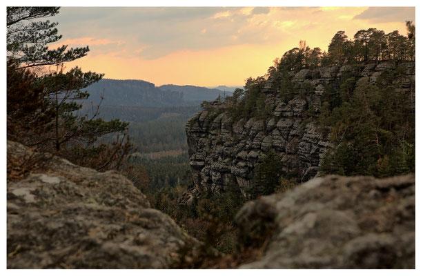 Aussicht vom Teichstein