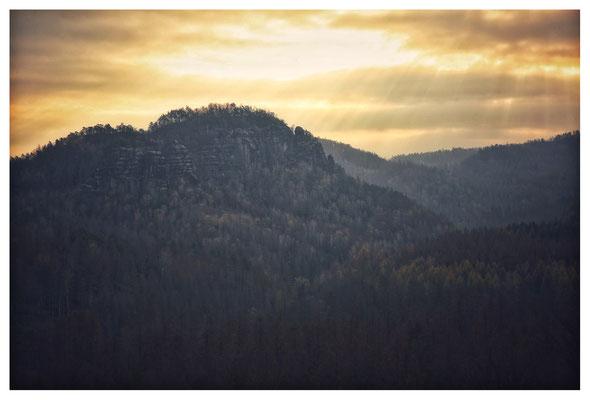 Blick zum Teichstein