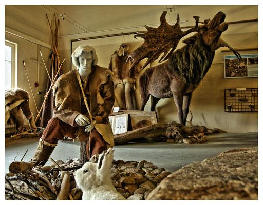 ...und um die Ecke gab's ein kleines Eiszeitmuseum...