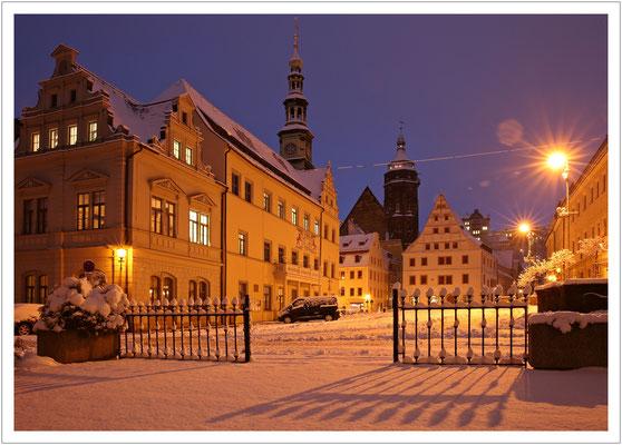 Winter auf dem Markt