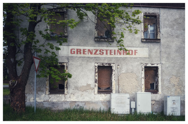 nicht überall boomt der Tourismus (Zinnwald)