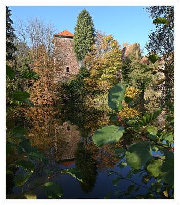 alte Wasserburg in Burgsinn