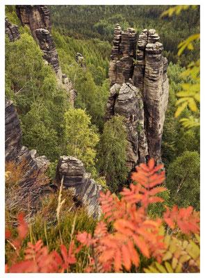 ...ein Hauch von Herbst am Kleinen Grenzturm...