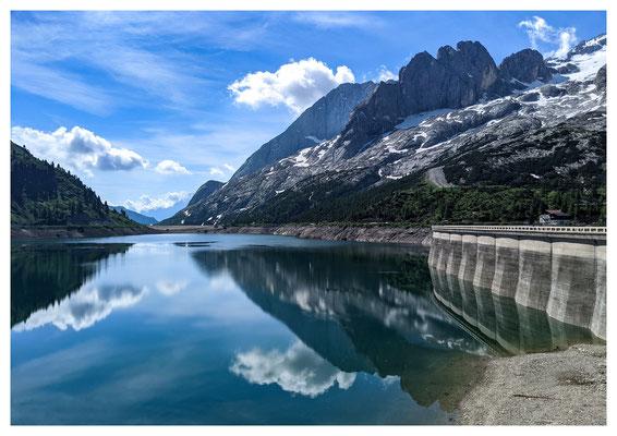 am Lago Fedaia