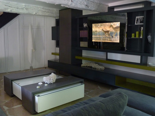 Cuisines autres agencements mathieu le guern design for Meuble qui se transforme