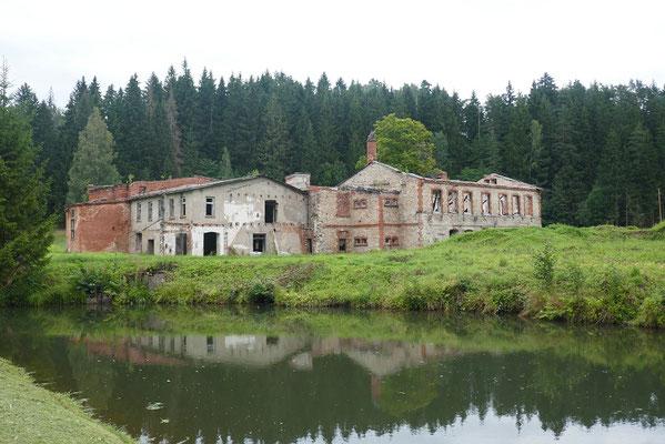 ehemalige Papierfabrik Ligatne