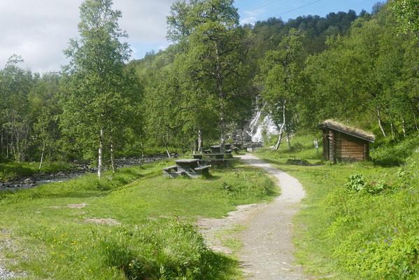 schöner Naturrastplatz...