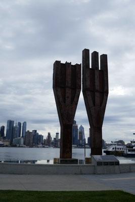 9/11 Memorial in Weehawken