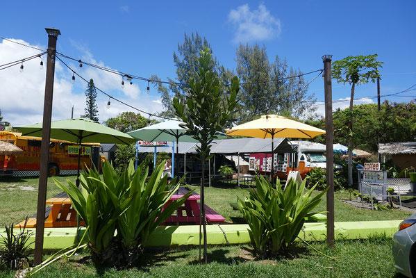 Impressionen von O'ahu - Foodtrucks in Kahuku