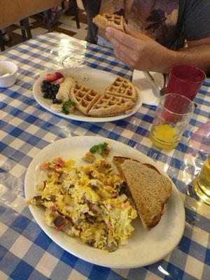 leckeres Frühstück in Moab