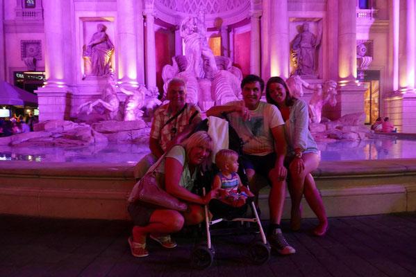 Las Vegas - Gruppenbild in Rom