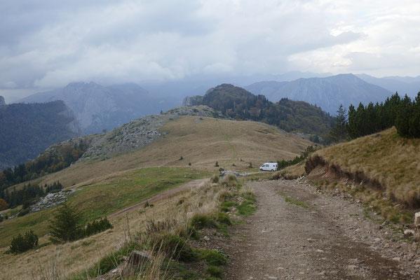 Sutjeska-Nationalpark - einsamer Übernachtungsplatz