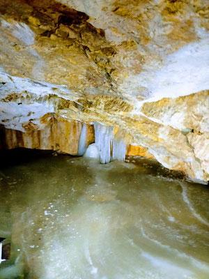 Dobšinká Eishöhle