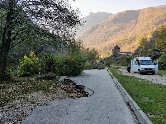 Matka Canyon - ruhiger Übernachtungsplatz