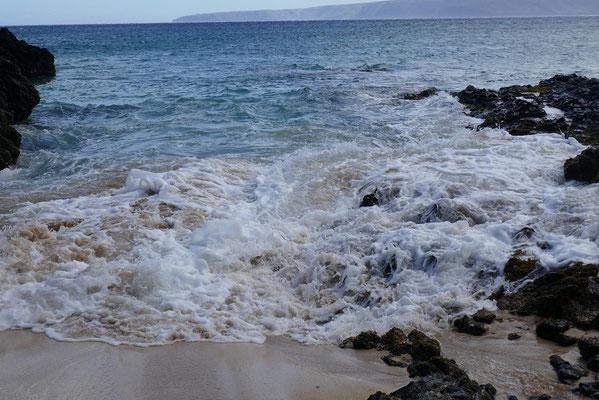 Unsere versteckte Strand-Bucht