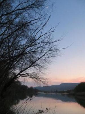 Abendstimmung am Rio Cinca