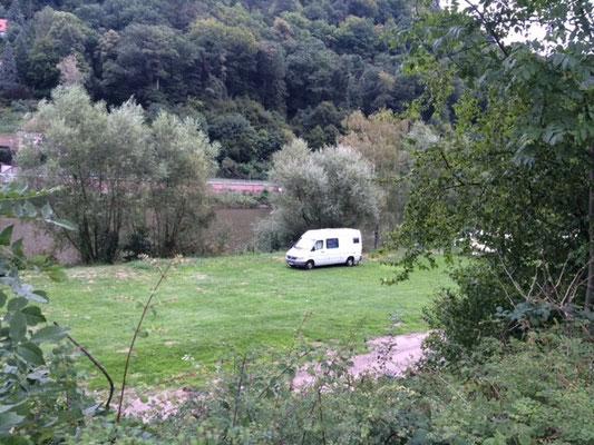Toller Campingplatz in Heidelberg