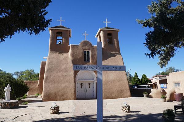 San Francisco de Asis Kirche bei Taos