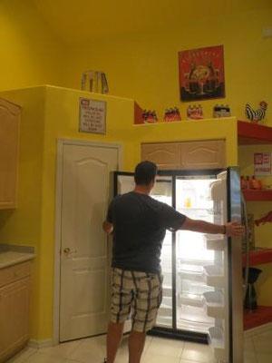 ...mit noch größerem Kühlschrank :)