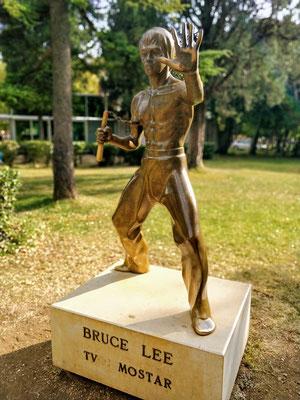 Mostar - wer kein Idol hat, nimmt eben Bruce Lee ;)