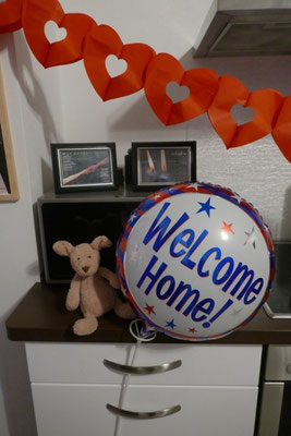Willkommen zu Hause