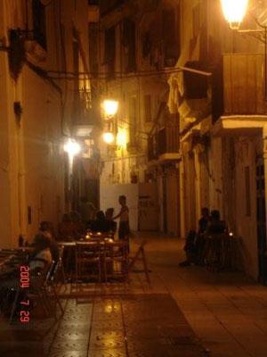 In den Gassen von Ibiza-Stadt