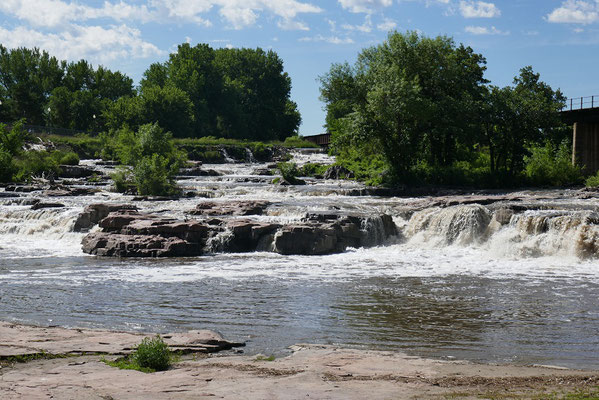 Die Wasserfälle on Sioix Falls