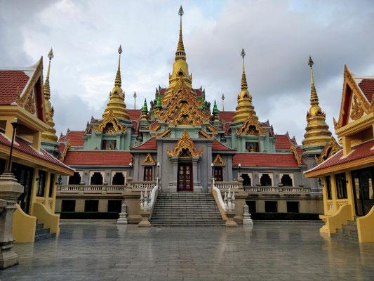 abendlicher Ausflug zum Tempel